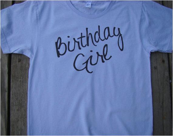 birthday girl adult t shirt american