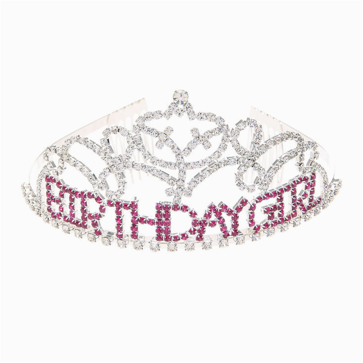 birthday girl crystal tiara 67147