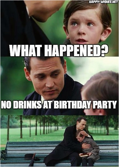 happy birthday wine memes