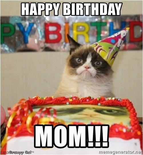 happy birthday mom meme