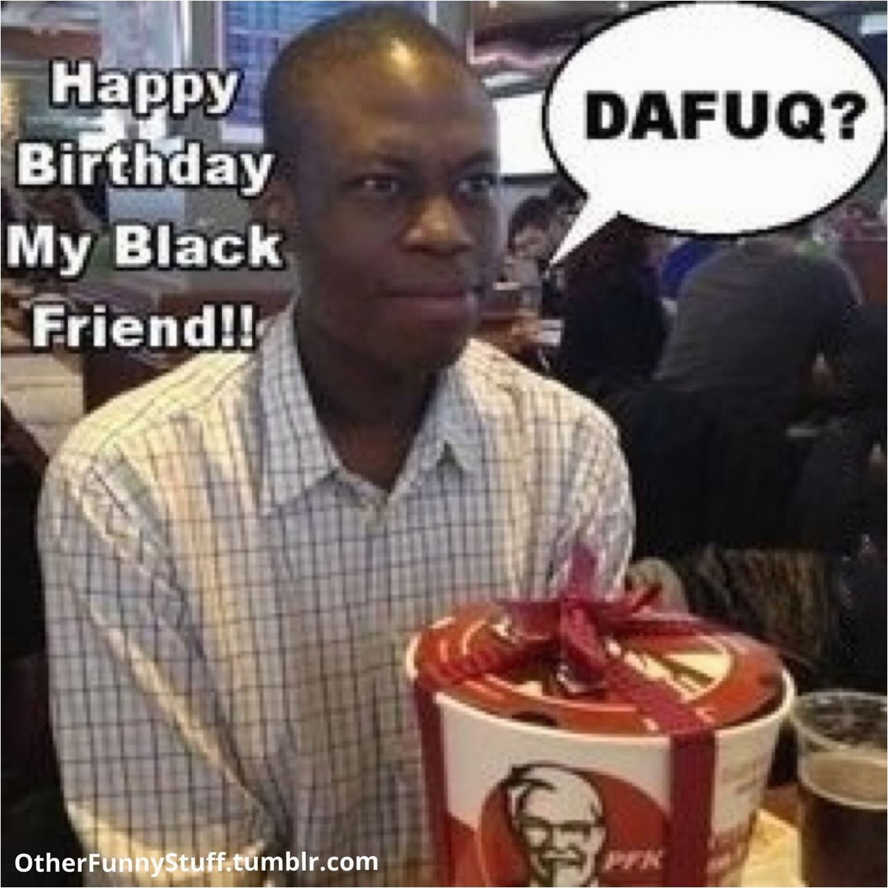 Black Man Birthday Meme Happy Birthday Funny