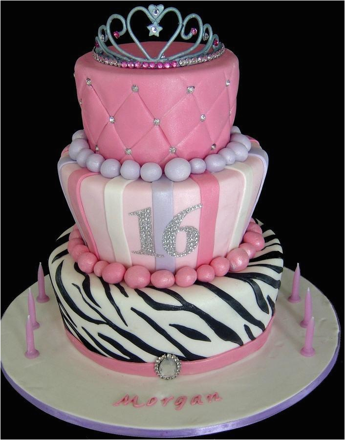 16th birthday cake ideas for girl
