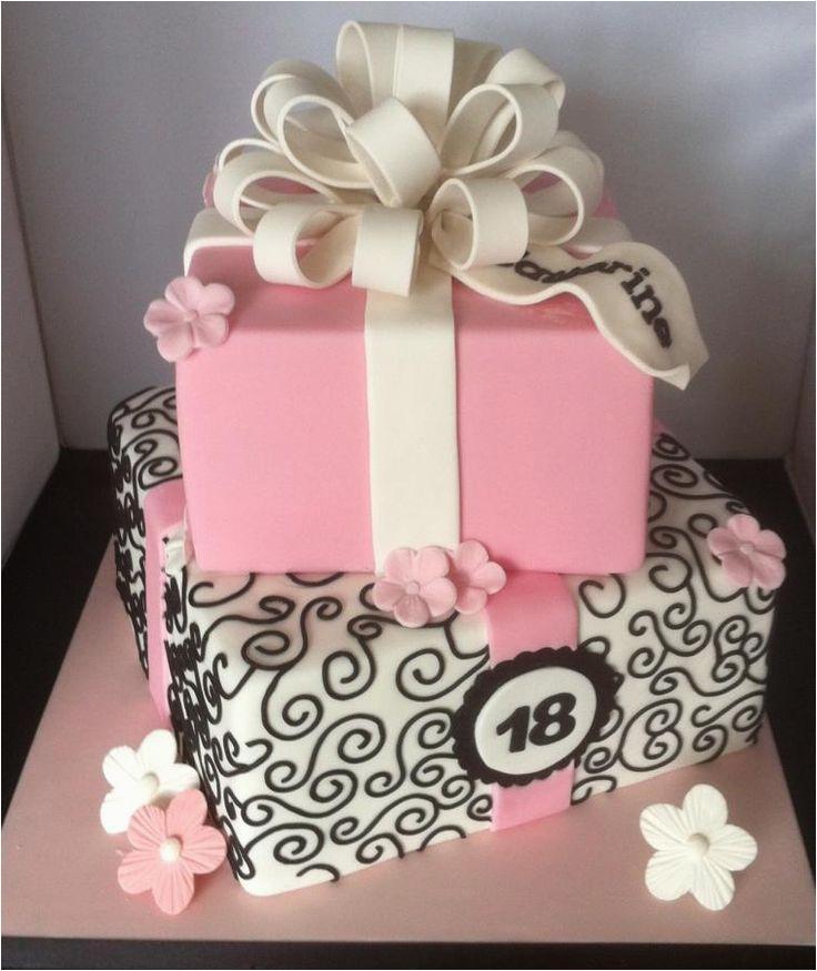 Cakes for 18th Birthday Girl Katherine 39 S 18th Birthday Cake Cakes Pinterest