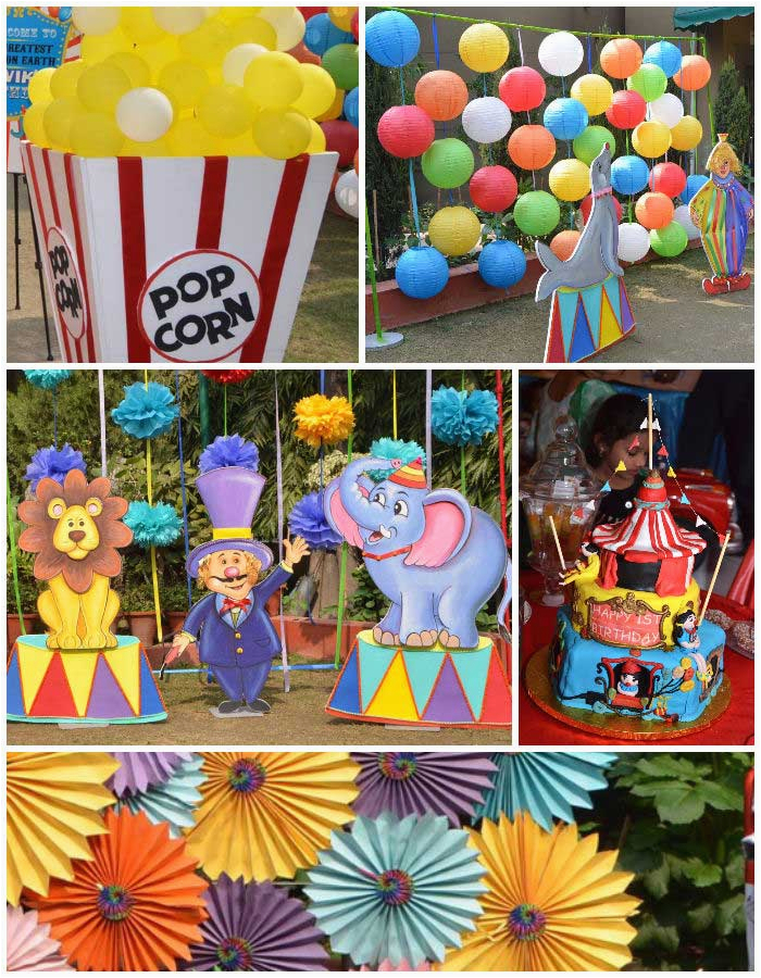1st birthday carnival party