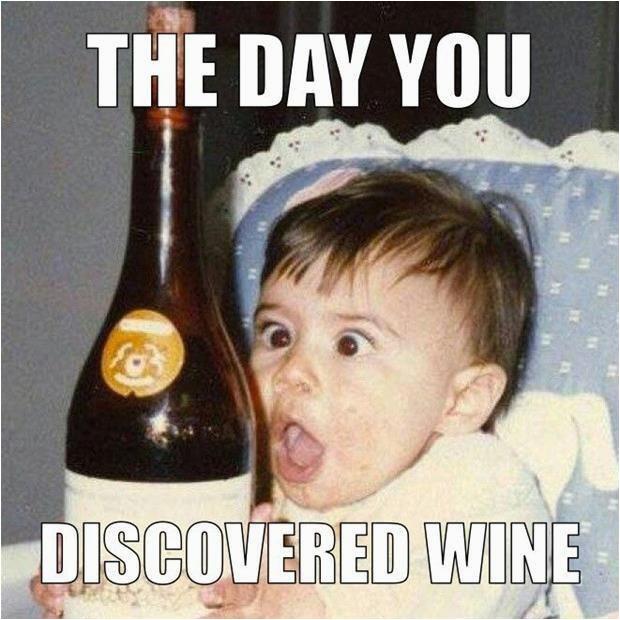happy birthday wine meme