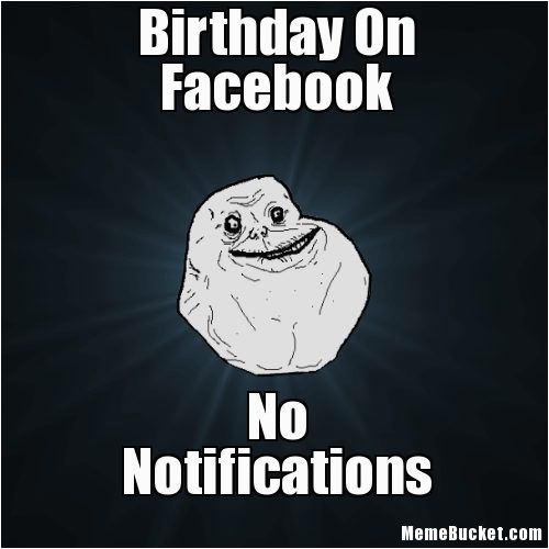 birthday on facebook