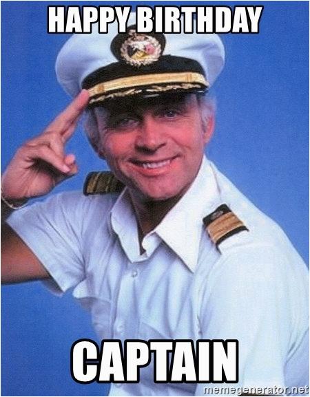 love boat captain happy birthday captain