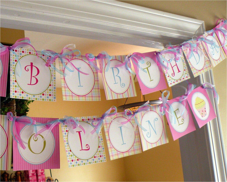 cupcake theme personalized happy