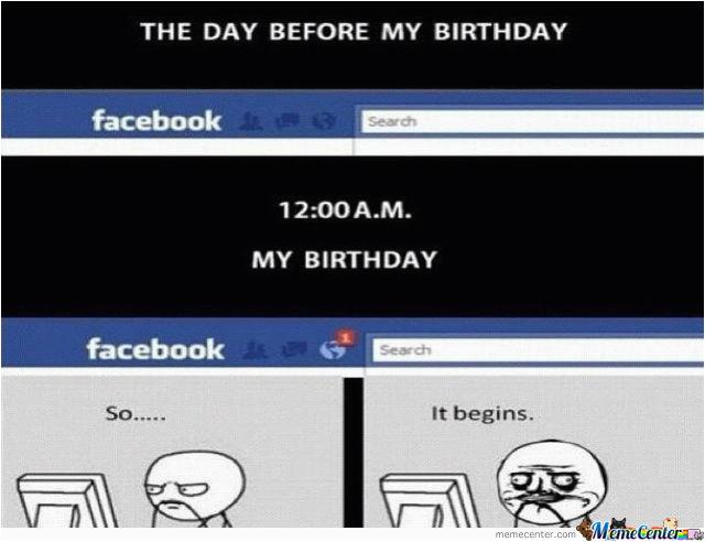 day before my birthday