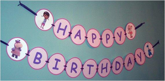 large doc mcstuffins happy birthday