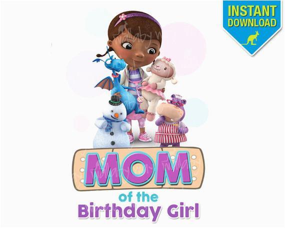 doc mcstuffins mom of birthday girl