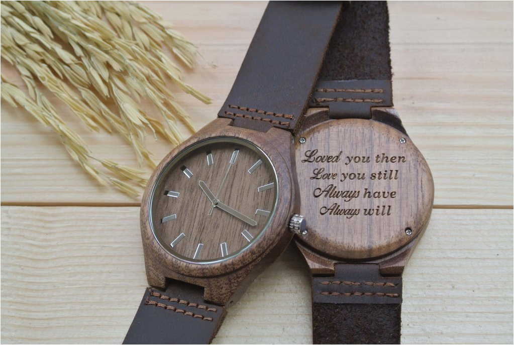 walnut anniversary gift for him wl4411