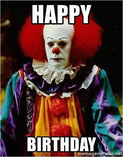 it clown stephen king happy birthday