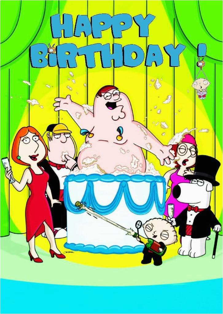 Family Guy Birthday Meme Family Guy Griffin Birthday Card fortytwo