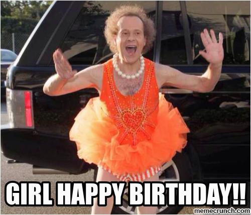 girl happy birthday