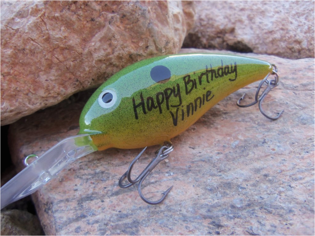 grad gifts for son happy birthday gift for brother fisherman boyfriend dad personalized fishing lure fishing hook fish themed party bday him