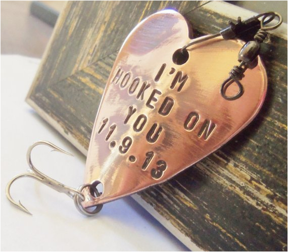 hooked on you fishing lure custom men