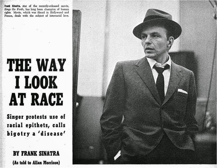 frank sinatra way i look at race