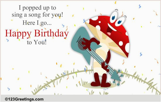 Free Email Birthday Cards Funny With Music Fun Pop Song Songs Ecards Greeting