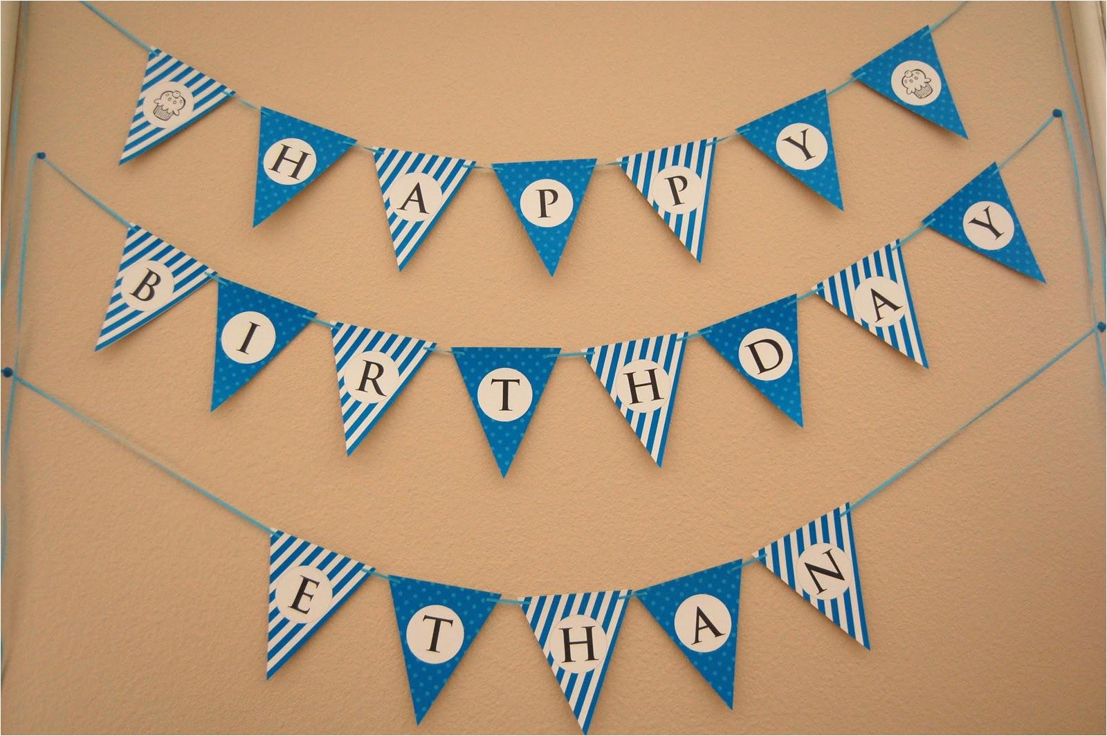 Free Printable Happy Birthday Banner Templates Flipawoo Invitation and Party Designs Happy Birthday
