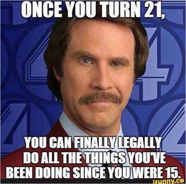 happy 21st birthday meme