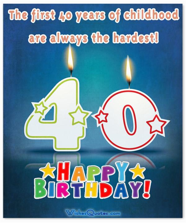 40th birthday wishes rockin40 beats stagnant 39