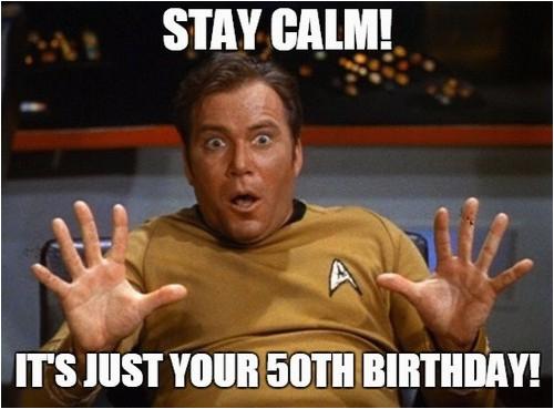 50th birthday memes