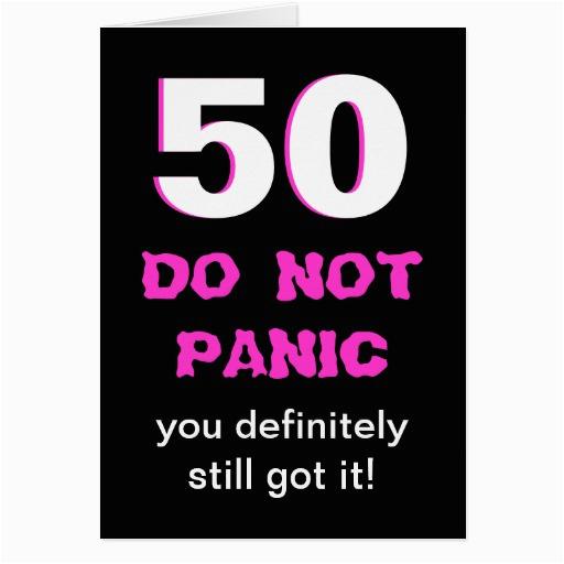 humorous 50th birthday quotes