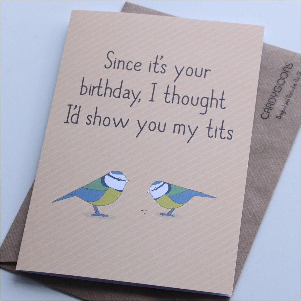 Funny Birthday Card Ideas for Boyfriend Funny Birthday Card Boyfriend Husband Rude Humour Card