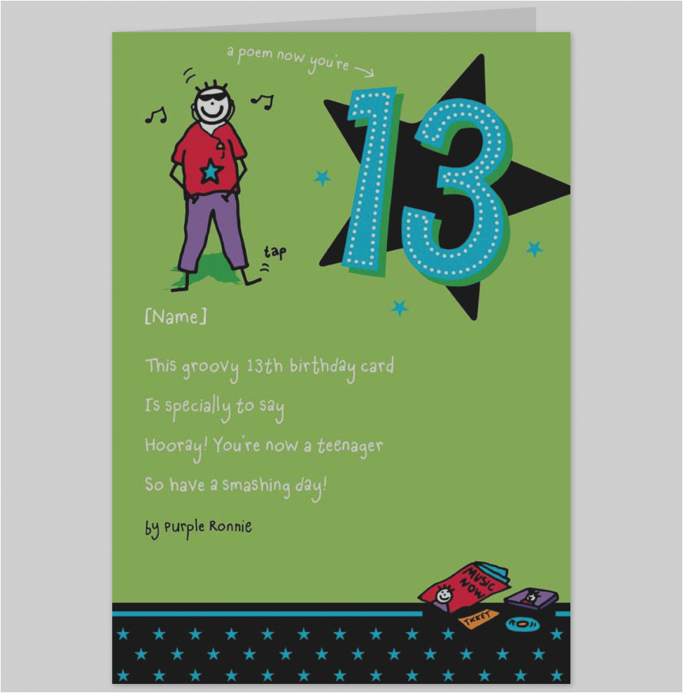 funny birthday card messages for teenagers