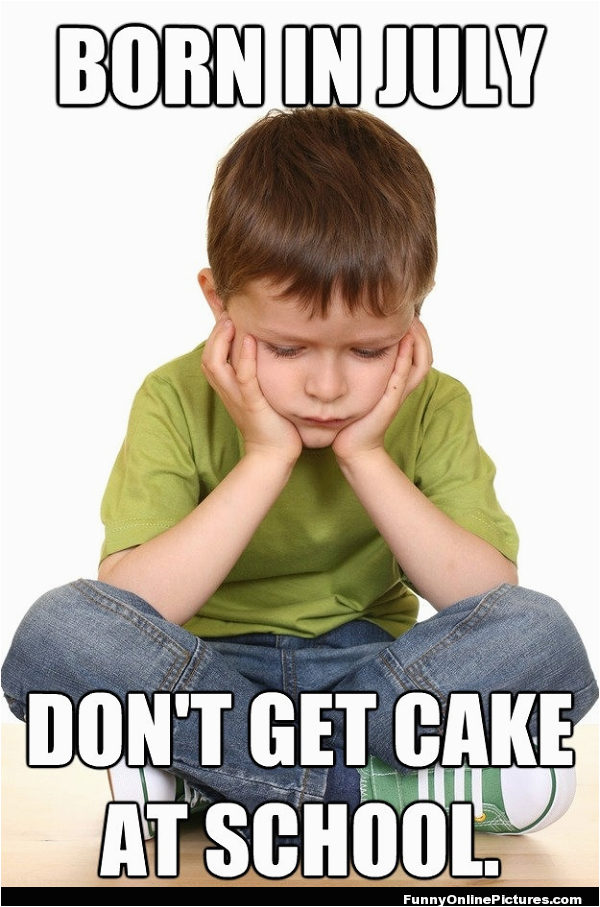 Funny Birthday Meme for Kids Funny Kid Meme Picture July Birthdays