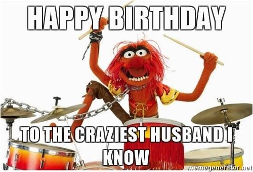 happy birthday husband meme