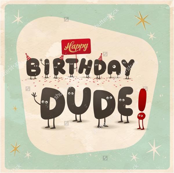 funny happy birthday card