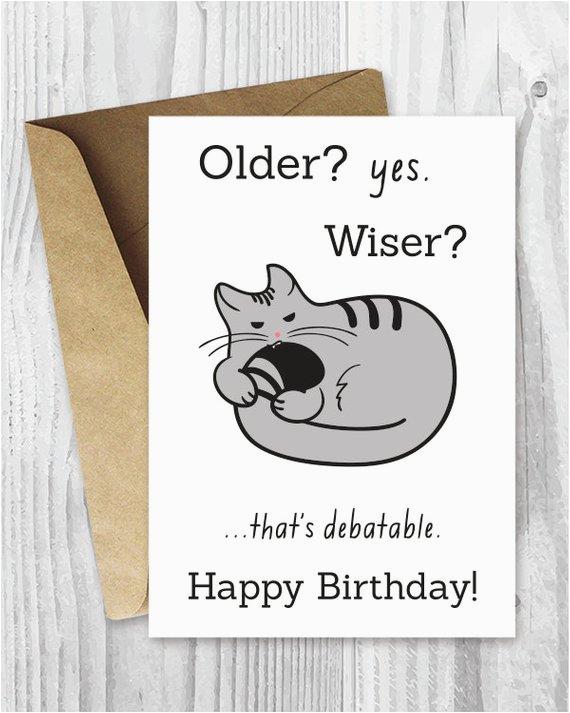 happy birthday cards funny printable