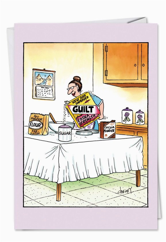 5124 jewish moms cereal humorous birthday mother paper card tom cheney