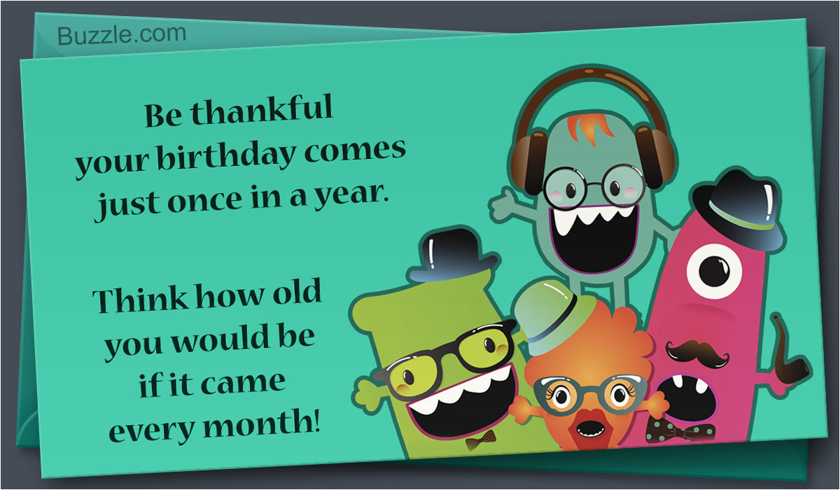 funny birthday card messages