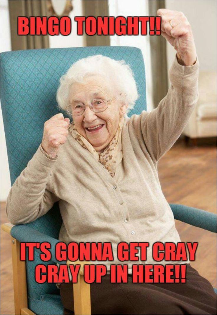 crazy old lady bingo