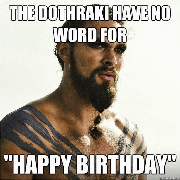game of thrones birthday meme wishes