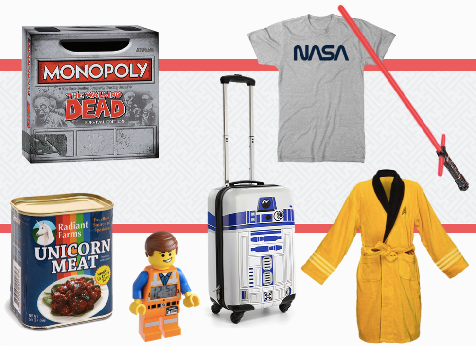 best quirky geek gifts for nerds we love