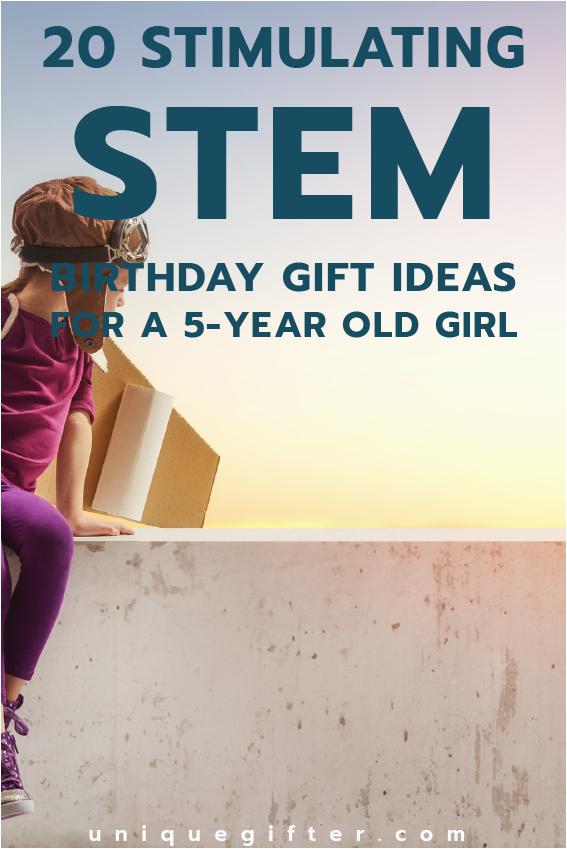 20 stem birthday gift ideas 5 year old girl