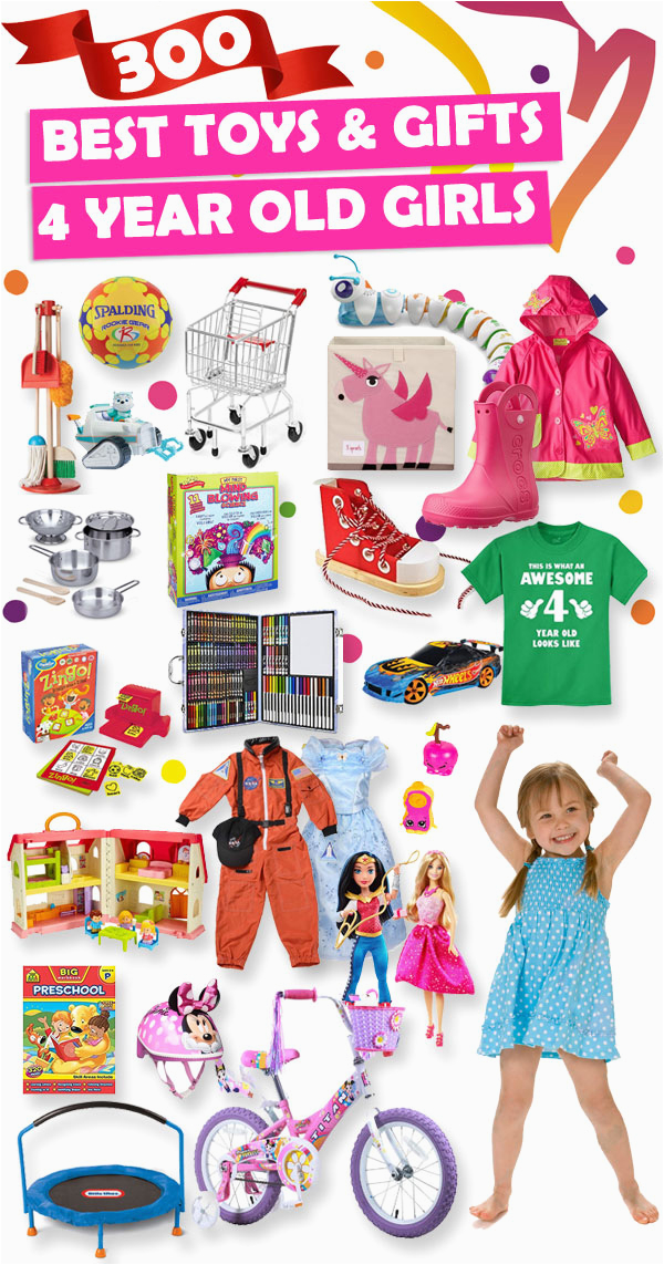 best toys and gifts for 4 year old girls