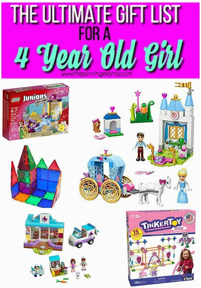 the ultimate gift list for a 4 year old girl