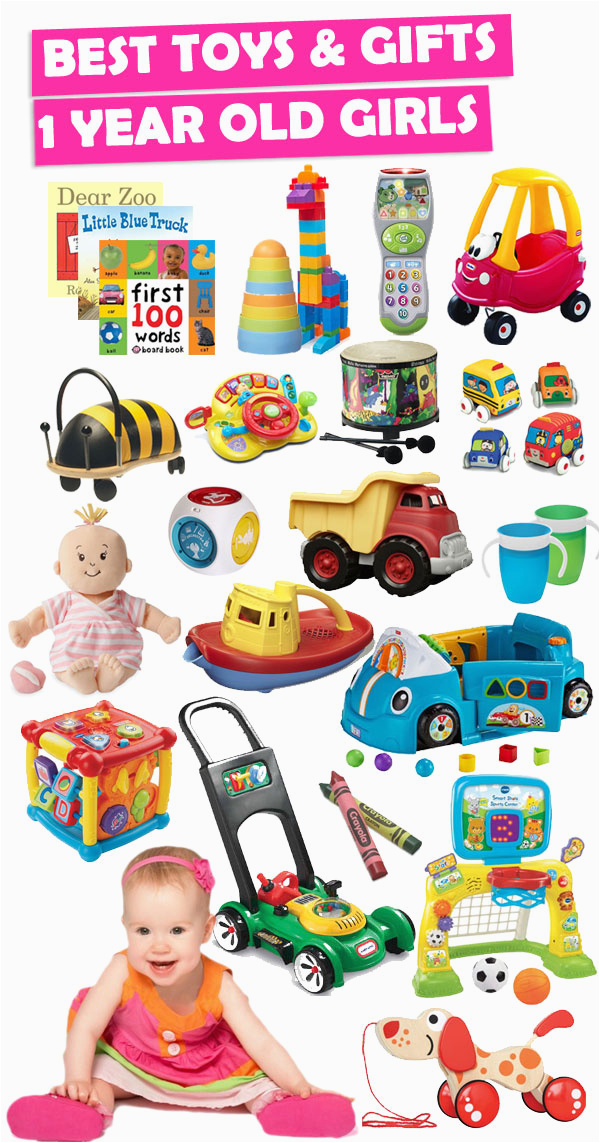 best toys and gifts for 1 year old girls