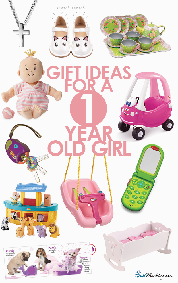 present ideas for 1 year old girls