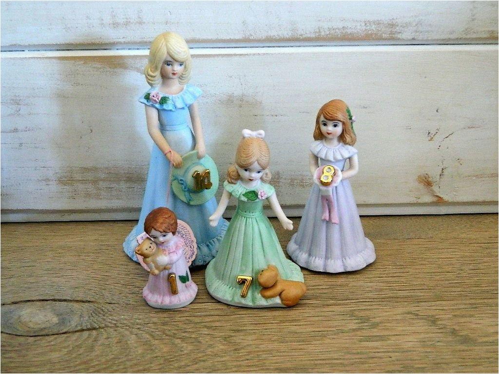 Growing Up Birthday Girls by Enesco Enesco Birthday Girl Growing Up Figurines Choose by