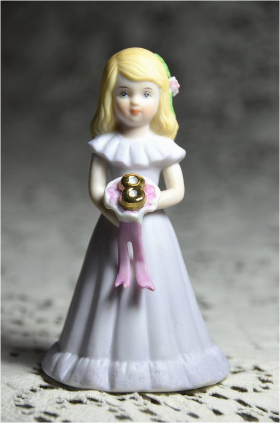 Growing Up Birthday Girls by Enesco Vintage Enesco Growing Up Girls Figurine 8th by 407lstreet