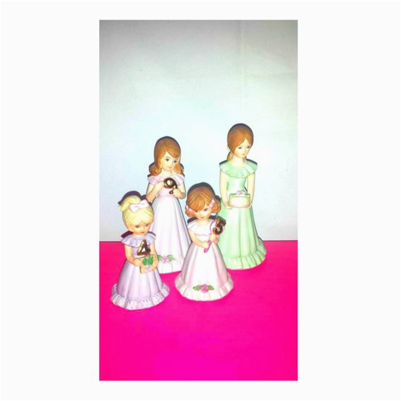 Growing Up Birthday Girls by Enesco Vintage Enesco Growing Up Girlsbirthday Girl by Junkyardblonde