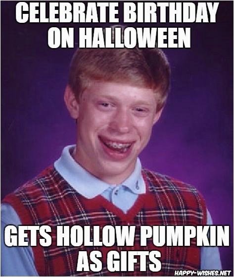 halloween birthday memes
