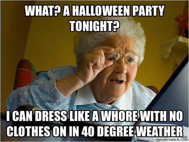 what a halloween party tonight