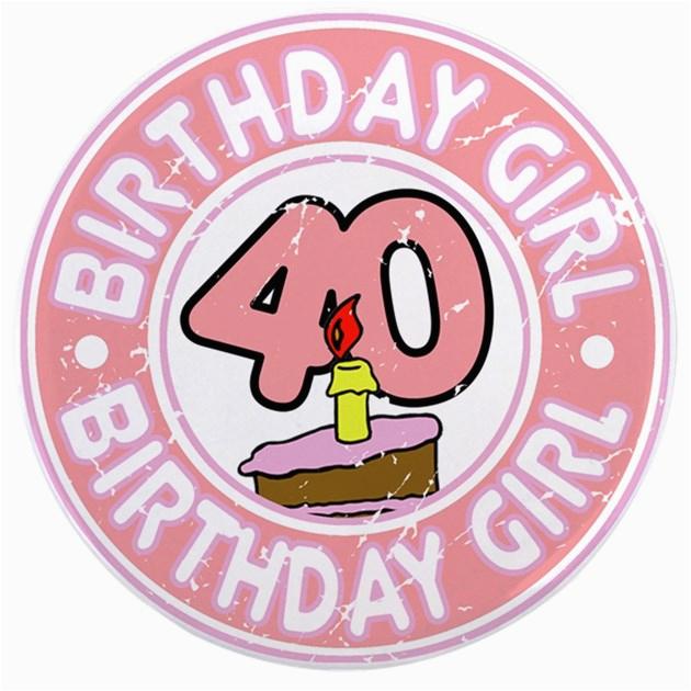 birthday girl 40 35 button 254710362